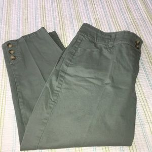 Charter Club Cropped/Ankle Pants 1317
